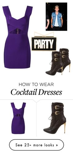 """cool party"" by zohre-zeynalova on Polyvore featuring Sara Battaglia and Balmain"