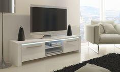 Selsey Polska: Mueble para televisión modelo Orlando por 129 € con opción a LED por 159 € (hasta 70% de descuento) con envío gratuito
