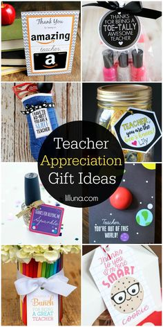 Teacher gift ideas for any time of year appreciation teacher and a roundup of teacher appreciation gift ideas for the end of the school year homemade solutioingenieria Image collections
