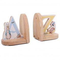 Bookends Beatrix Potter Peter Rabbit nursery.