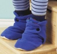Multisize Pattern Includes Sizes For Newborn These Booties Have Adjule Snap Closures And Soft Flannel Or Fleece Linings