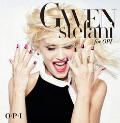 Gwen Stefani for OPI... a dream come true!!!