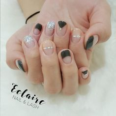 #Frenchnails  #Seethrunails 챠콜색으로 깔끔&고급지게 . . . ------------------------------------------------- 최고는 아니어도 최선을!  #eclaire_beauty #에끌레어뷰티  Gel nails/Mani/Pedi/Eyelashes Extension  1:1 By Appointment Only 0425 576 543 (text) ᴋᴀᴛᴀʟᴋ: clairesoyeon ᴡᴇᴄʜᴀᴛ: eclairebeauty FACEBOOK: Eclaire beauty ------------------------------------------------- by eclaire_beauty