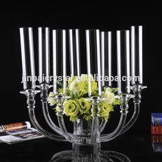table top candelabra chandlier wedding centre piece flower vase holder