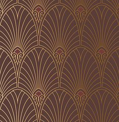 Art Deco Wallpaper & Borders | Retro Wallpaper | Bradbury & Bradbury