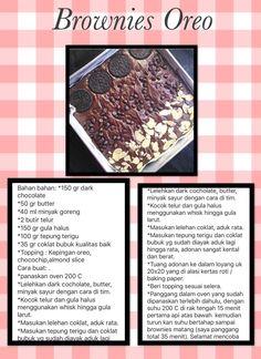 Asian Recipes, My Recipes, Cake Recipes, Dessert Recipes, Cooking Recipes, Resep Cake, Fudgy Brownies, Indonesian Food, Diy Food