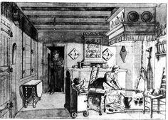 18th century Dutch kitchen interior