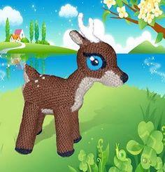 Wambo deer Amigurumi Toy by CrochetExpression on Etsy, €10.00