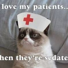 Too funny not to share!  #scrubsboutique #scrublife #grumpycat #nursing