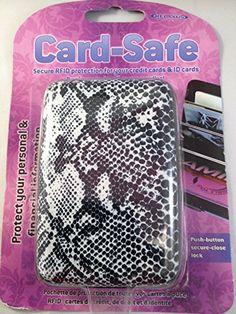 Faux Snakeskin Card-Safe RFID Card Holder Wallet Relaxus http://www.amazon.com/dp/B00O2C18RG/ref=cm_sw_r_pi_dp_nOZHub0TR0RN9