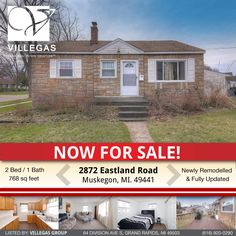 Great first time home buyer or small family home! 2 Bed/1 Bath Recently Remodeled from top to bottom with newer furnace!