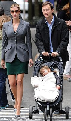 But Ivanka Trump kept her tiny baby bump under wraps during a walk with Jared and their daughter Arabella Rose in Manhattan on Saturday.