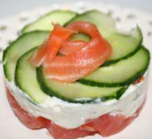 Recette - Fraîcheur de saumon - Proposée par 750 grammes