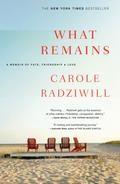 What Remains -  Carole Radziwill - McNally Robinson Booksellers