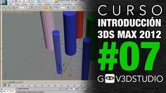 Introducción a 3ds max 2012 -07- Clonación de objetos y desplazamiento en la escena.