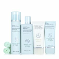 Liz Earle four-piece Christmas Skincare Essentials Beauty Must Haves, Desert Island, Skincare, Essentials, Perfume, Makeup, How To Make, Christmas, Maquillaje