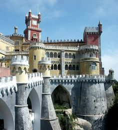 Palácio da Pena, Sintra | www.castlesandmanorhouses.com