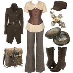 """Military Steampunk"" by princessgeek86 on Polyvore"
