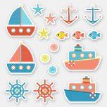 Cute Nautical Coral Yellow Blue Boats Sticker walleye fishing, fishing quote, carp fishing tips Carp Fishing Tips, Walleye Fishing, Fishing Tricks, Fishing Rods, Ice Fishing, Fishing Tackle, Boat Stickers, Cute Stickers, Blue Boat