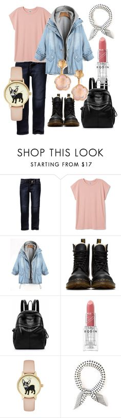 """Get out"" by tinakriss ❤ liked on Polyvore featuring Fat Face, Dr. Martens, Rodin and Pasquale Bruni"