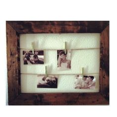 Rustic Clothesline Picture Frames | Darby Smart