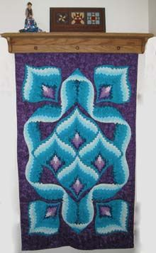 by bargello quilt Bargello Quilt Patterns, Bargello Needlepoint, Bargello Quilts, Quilt Patterns Free, Quilting Projects, Quilting Designs, Broderie Bargello, Crochet Quilt, Quilted Pillow