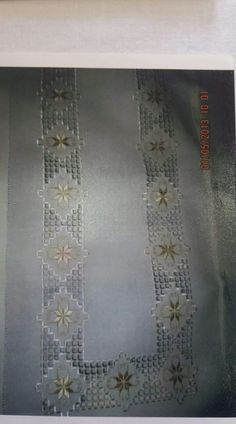 Hardanger Embroidery, Learn Embroidery, Embroidery Patterns, Modern Embroidery, Bargello, Learning, Diy, Inspiration, Model