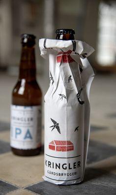 Kringler Farm Breweri #packaging #branding #beer