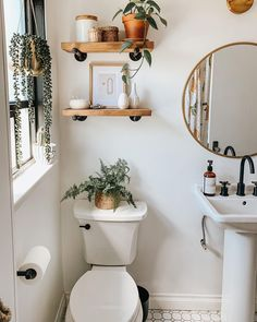 Modern Bathroom Decor, Bathroom Interior Design, Bathroom Designs, Decoration For Bathroom, Farm House Bathroom Decor, Decorating Small Bathrooms, Modern Small Bathroom Design, House Plants Decor, Industrial Bathroom