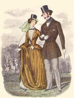 AVICTORIAN.COM, Victorian Fashion 1850-1859--Victorian Days