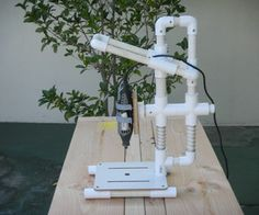 PVC Dremel Drill Press