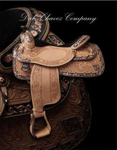 Dale Chavez Custom Show Saddles