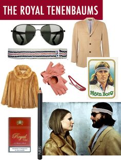 Wes Anderson: The Royal Tenenbaums Style #theuniquecamp #danceparty