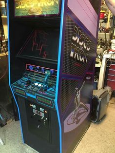 Discs Of Tron #arcade game