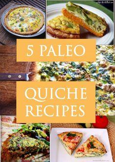Paleo Quiche Recipes www.paleozonerecipes.com #paleorecipes #paleo