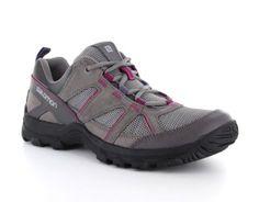 Salomon – Cruise II Women´s – #Wandelschoen - De dames Hiking schoenen van #Salomon zijn aan de bovenkant mooi afgewerkt met mesh, dit zorgt voor extra ventilatie rondom de voet. De split-suède en leder overlays zorgen voor duurzaamheid en de Ortholite inlegzool transporteert vocht en biedt langdurige demping en luchtstroom voor een koele voet. #Hikingschoen #Hikingschoenen #Wandelschoenen #Dameswandelschoen #Dameswandelschoenen