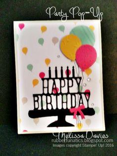 RubberFUNatics: Happy Birthday Pop-Up