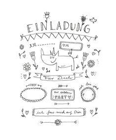 Einladung | Finelittlepaper