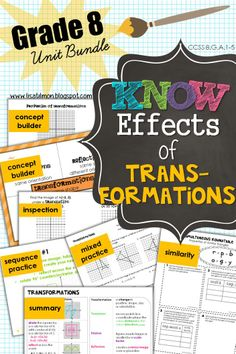 Translations Reflections Rotations And Dilations With An Emphasis
