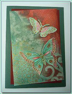 'Mir'acle Art Inspirations: creations of 'non- stamping ladies.........creaties van 'niet-stempelaars'