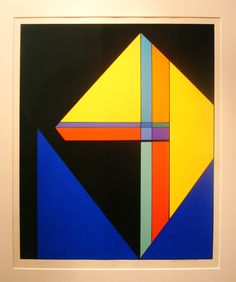 Guy Vandenbranden Composition Abstraite 1968