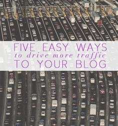 Easy tips that anyone can implement that can increase traffic on your blog. See more blogging related tips from Victoria McGinley >>>
