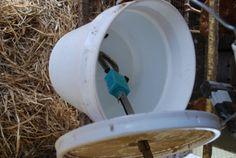 Make a get through winter watering system. Best heated chicken waterer