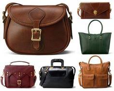 American Made Leather Handbags From J.W. Hulme via USALoveList.com