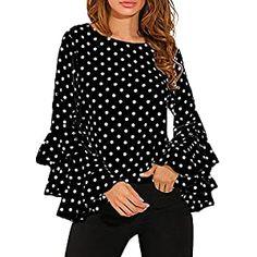 New APPAREL Archives - Golfiya - The Sports Store Chiffon Shirt, Ruffle Blouse, Women's Flares, Polka Dot Shirt, Polka Dots, Long Blouse, Plus Size Blouses, Long Tops, Women's Tops