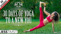 Join Jess in this 30 days of yoga challenge, starting with the basics and moving up to more advanced flows, with certain days dedicated to specific poses to help you get the most out of your practice. Best Yoga Videos, 30 Day Yoga Challenge, Morning Yoga Flow, Yoga Sequences, Yoga Poses, Yoga For Weight Loss, Yoga Routine, Workout For Beginners, Burn Calories