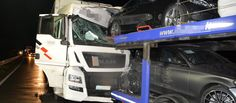 Lkw-Unfall auf der A45 Trucks And Girls, Vehicles, World, Autos, Car Carrier, Car, Vehicle, Tools