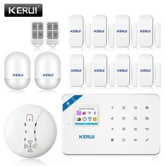 Cheap alarm keypad, Buy Quality alarm directly from China alarm clock blue led Suppliers: 2017 WIFI GSM SMS Home Burglar Security Alarm System PIR Motion detector APP Control Sensor Alarm Fire Smoke Detector Alarm Wifi, Motion Detector, App Control, Security Alarm, Alarm System, Windows And Doors, Remote, Products, Smoke