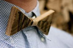 Wooden Bow-Tie