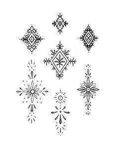 Boho Tattoos, New Tattoos, Tatoos, Sternum Tattoo, Mandala Tattoo, Piercings, Piercing Tattoo, Handpoke Tattoo, Magic Tattoo